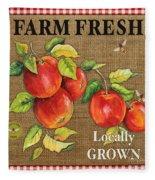 Farm Fresh-jp2380 Fleece Blanket