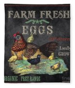Farm Fresh-jp2636 Fleece Blanket