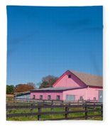 Farm Like A Girl Fleece Blanket