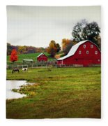 Farm Perfect Fleece Blanket