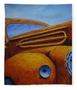 Farm Truck Fleece Blanket