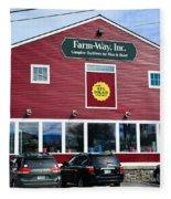 Farm- Way  Www.vermontgear.com Fleece Blanket