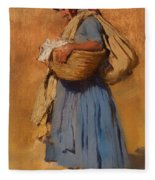 Farmer's Wife Fleece Blanket