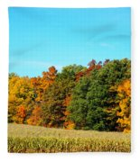 Farmfield Fall Fleece Blanket