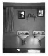 Farmhouse Washroom, 1936 Fleece Blanket