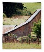 Farming Fleece Blanket