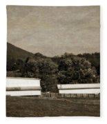 Farming The Shenandoah  Fleece Blanket