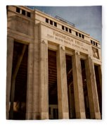 Farrington Field Facade Fleece Blanket