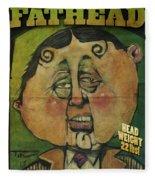 Fathead Poster Fleece Blanket