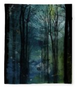 Father Frost Is Coming Fleece Blanket