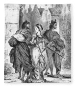 Faust: Mephistopheles 1828 Fleece Blanket