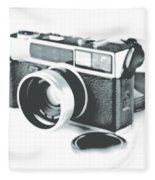 Favorite Camera Fleece Blanket