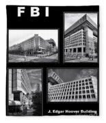 Fbi Poster Fleece Blanket