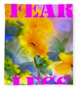 Fear Less Fleece Blanket