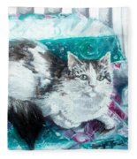 Feather Belle Fleece Blanket