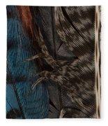 Feather Collection Fleece Blanket
