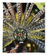 Feather Crown Fleece Blanket