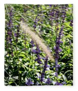 Feather In The Crowd Fleece Blanket