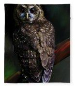 Feathered Beauty Fleece Blanket