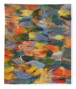 Feathered Cape Fleece Blanket