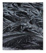 Feathered Ice Fleece Blanket