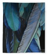 Feathers Fleece Blanket