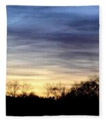 February 1 Dawn 2013 Fleece Blanket