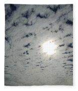 February Sky Fleece Blanket