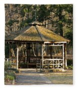 February's Gazebo 2013 Fleece Blanket