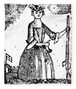 Female Continental Soldier Fleece Blanket