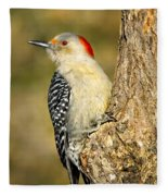 Female Red-bellied Woodpecker Fleece Blanket