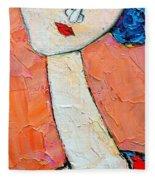 Femininity Fleece Blanket