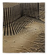 Fence Line Fleece Blanket