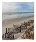 Fence Line Fleece Blanket