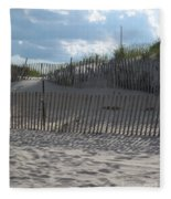 Fenced Dune Fleece Blanket