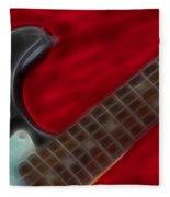 Fender-9657-fractal Fleece Blanket