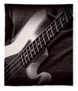 Fender Bass Fleece Blanket