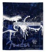 Fender Blueprint Washout Fleece Blanket