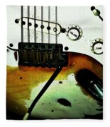Fender Detail  Fleece Blanket