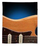 Fender Stratocaster Curves Fleece Blanket