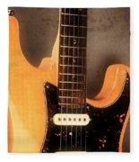 Fender Stratocaster Electric Guitar Fleece Blanket