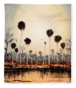 Fenholloway River Florida Fleece Blanket