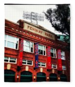 Fenway Park In October 2013 Fleece Blanket