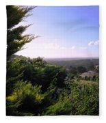 Ferguson Valley Landscape Fleece Blanket