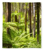 Fern Forest Fleece Blanket