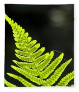 Fern Tip Fleece Blanket