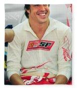Fernando Alonso Fleece Blanket