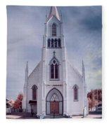 Ferndale Church Fleece Blanket