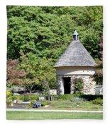 Fernwood Botanical Garden Stone Herb House Usa Fleece Blanket
