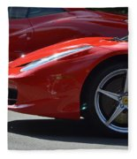 Ferrari Fleece Blanket